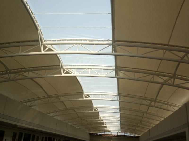 郑州中学中庭膜结构